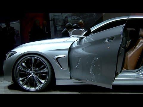 BMW 4 Series Coupé at the BMW Design Night