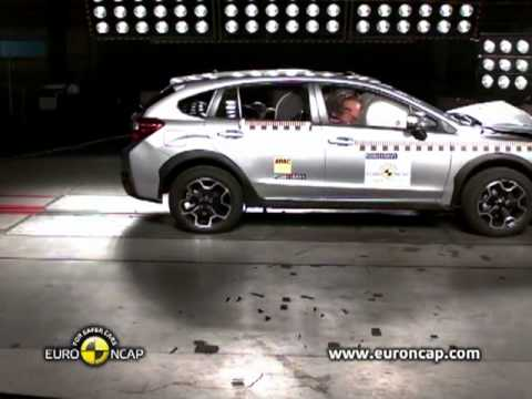 Euro NCAP  Subaru XV  2011  Crash testflv  YouTube