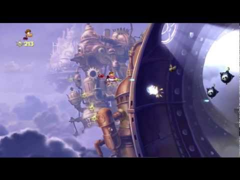 Rayman Origins Playthrough Part 51 | The Reveal , The Chase, Credits |