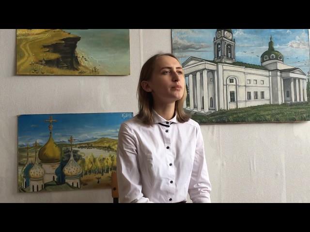 Изображение предпросмотра прочтения – АннаАнискина читает произведение «Идут часы, и дни, и годы...» А.А.Блока