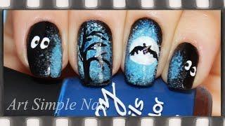 Маникюр на Хэллоуин (рисунки на ногтях) | Halloween Nails