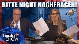 Gläserner Bürger ja, gläserner Staat nein | heute-show vom 04.05.2018