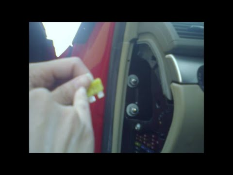 2007 Mustang Fuse Box Diagram How To Fix 12v Fuse Cigarette Lighter In Car Youtube
