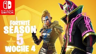 🔴 WEEK 4 Battle Pass Season 5 Challenges| Fortnite Battle Royale Nintendo Switch