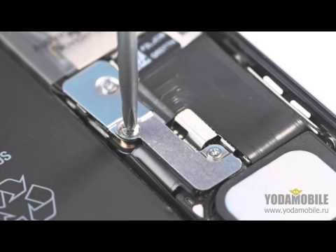 Замена динамика звонка IPhone 5