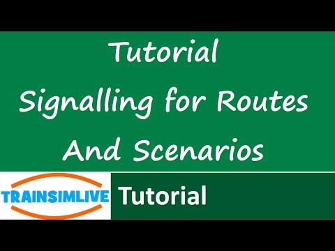 Train Simulator 2015 Tutorial - Adding UK Signals to your route