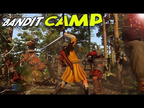 BANDIT CAMP! - Kingdom Come Deliverance #4