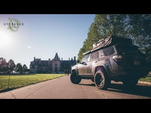 Overland Expo East 2016 at The Biltmore Estate in Asheville, North Carolina (4K)