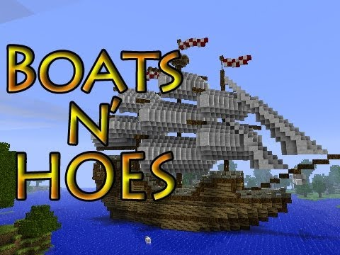 Minecraft: Boats n' Hoes Mini-Game