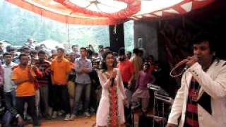 Pammi Live Kuldeep Sharma Nati King  and Ms Kritika Dance With Public Song UBE LALIYE HO At Chaupal, Shimla