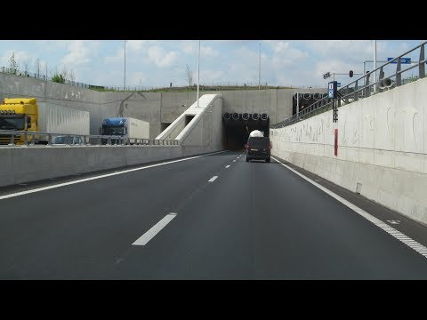 A2 Maastricht: the tunnel