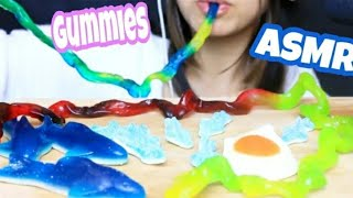 ASMR CANDY *Chewy* EATING SOUNDS MUKBANG