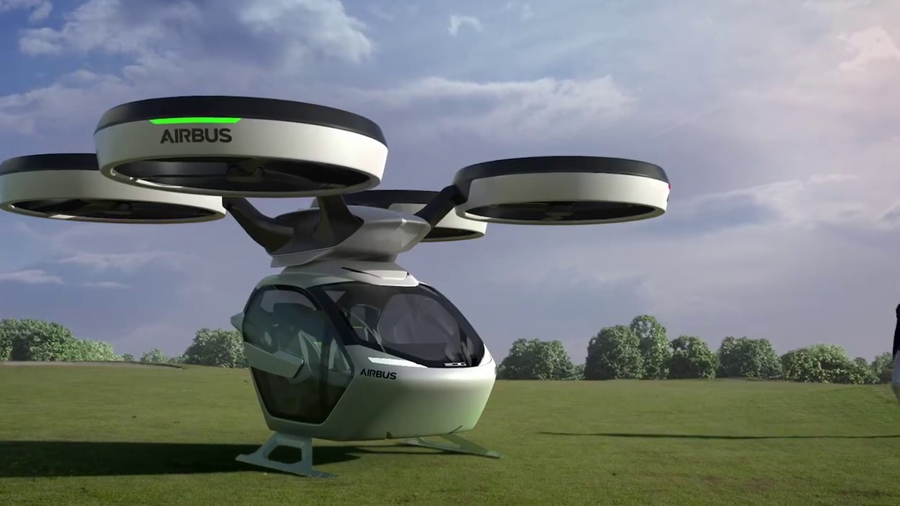 Up Modular Autonomous Car Drone Hybrid Concept By Airbus And Italdesign
