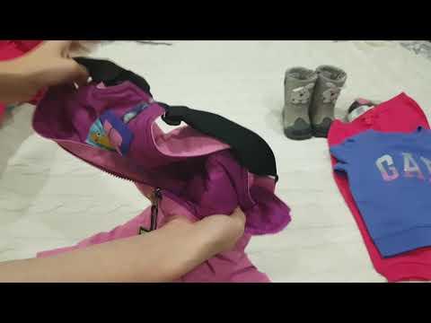 Покупки детской одежды на зиму💓( Reima, Gap, Waikiki,  Carters,  Kapika, Burton)