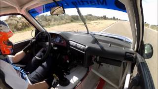 BMW M3 e30 RACE CAR - F. Gutierrez - Calafat - Gopro Hero 2