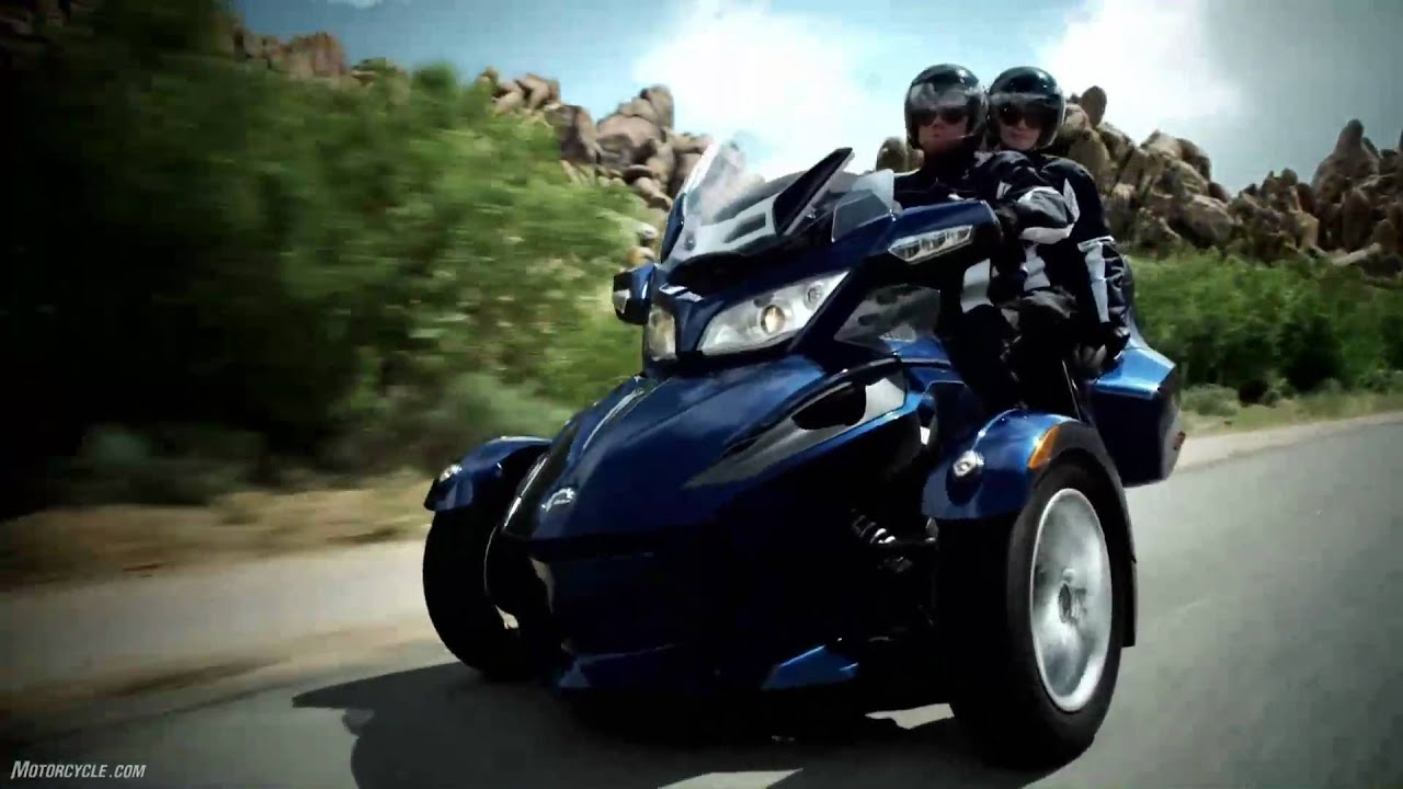 2010 can am spyder rt model intro a different beast rides a different line youtube