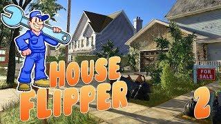 House Flipper - Тяжела работа ассенизатора! Прохождение Хаус Флиппер серия 2
