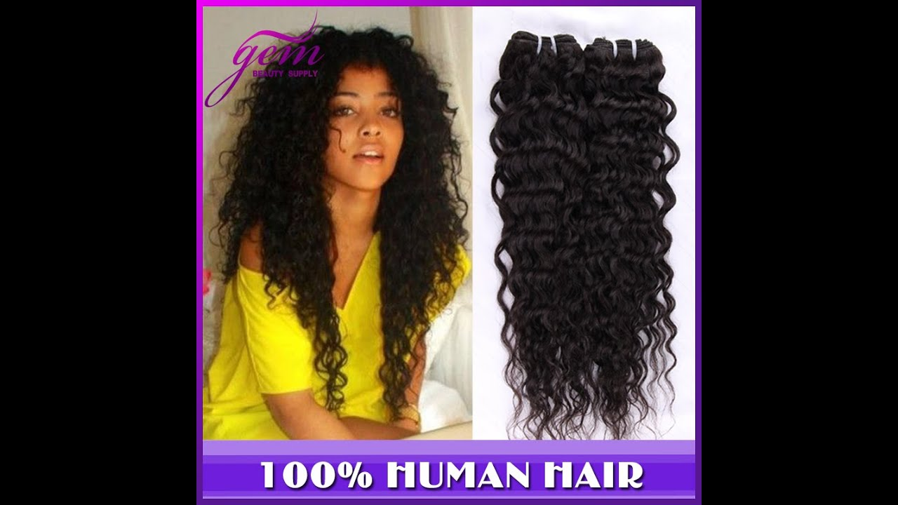 Malaysian Curly Wave Virgin Hair From Gem Beauty Supply Hair Store