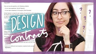 You NEED a design contract for freelancing!