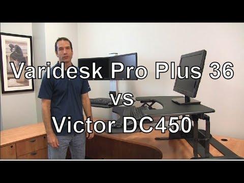 Standing Desk Review Varidesk Pro Plus 36 Vs Victor