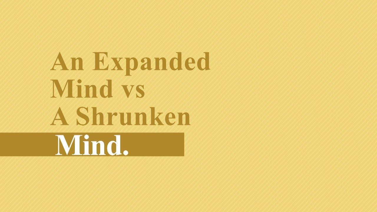 """""""A Moment of Light"""" with Harav HaGaon Israel Abargel Shlit""""a - An Expanded Mind vs A Shrunken Mind"""