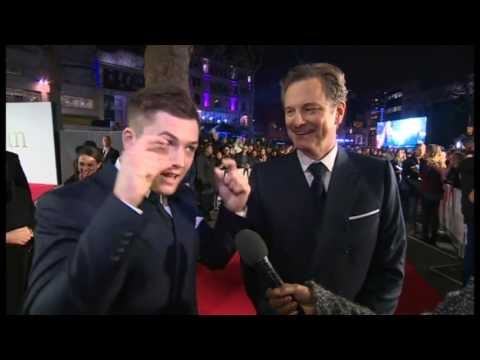 Funny Adorable Colin Firth and Taron Egerton Talking About SixPacks