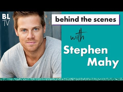Stephen Mahy - Mamma Mia  | Exclusive Interview