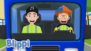 Blippi Garbage Truck Song! | Kids Songs & Nursery Rhymes | Educational Videos for Toddlers