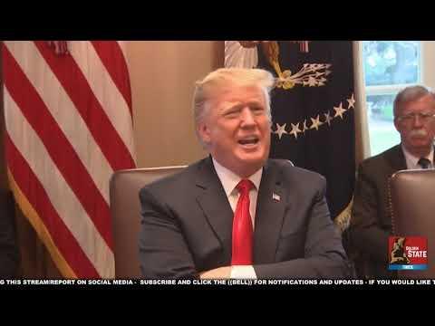 URGENT 🔴 President Trump EXPLOSIVE Cabinet Meeting on Government Shutdown