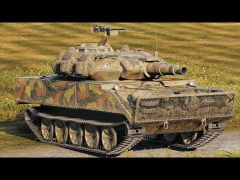 World of Tanks XM551 Sheridan - 5 Kills 10,2K Damage
