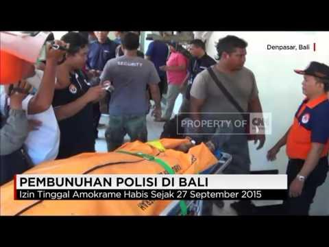 Polisi Tembak Mati Atlet MMA di Bali