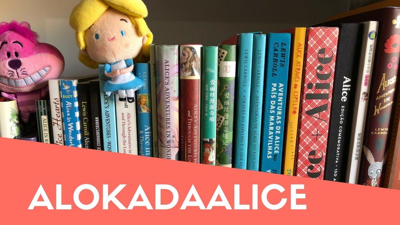 Coleção de livros (e objetos) de Alice no País das Maravilhas | Mari Dal Chico
