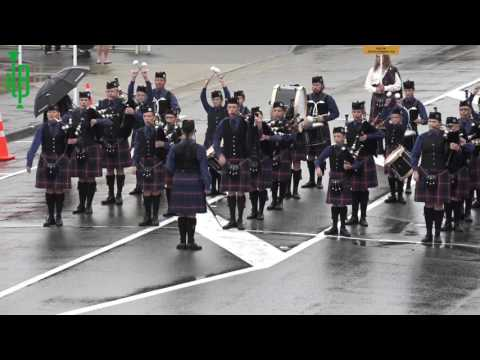Parade Of Bands - NZ Pipe Band Championship 2017