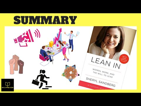 Lean In by Sheryl Sandberg   Animated Book Review - YouTube