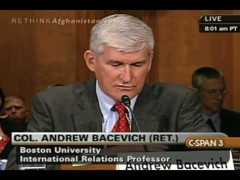 """Andrew Bacevich Asks Congress If We Can Afford to Fight the """"Long War"""""""