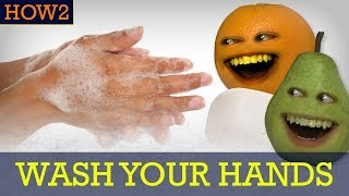 how2 how to wash your hands