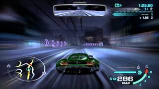 Nfs Carbon - Lotus Hennessey Venom GT vs Chevrolet Corvette ZO6 [HD]