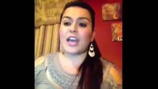 """""""Sin evidencias"""" Contestación Kimberly La Guerrera."""