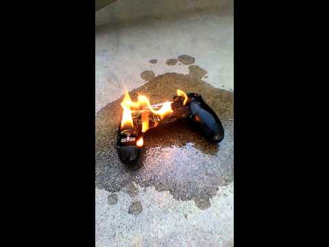 burning a ps4 controller youtube. Black Bedroom Furniture Sets. Home Design Ideas
