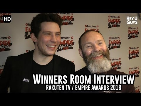 Josh O'Connor & Francis Lee on God's Own Country - Empire Awards 2018 Winners Room Interview