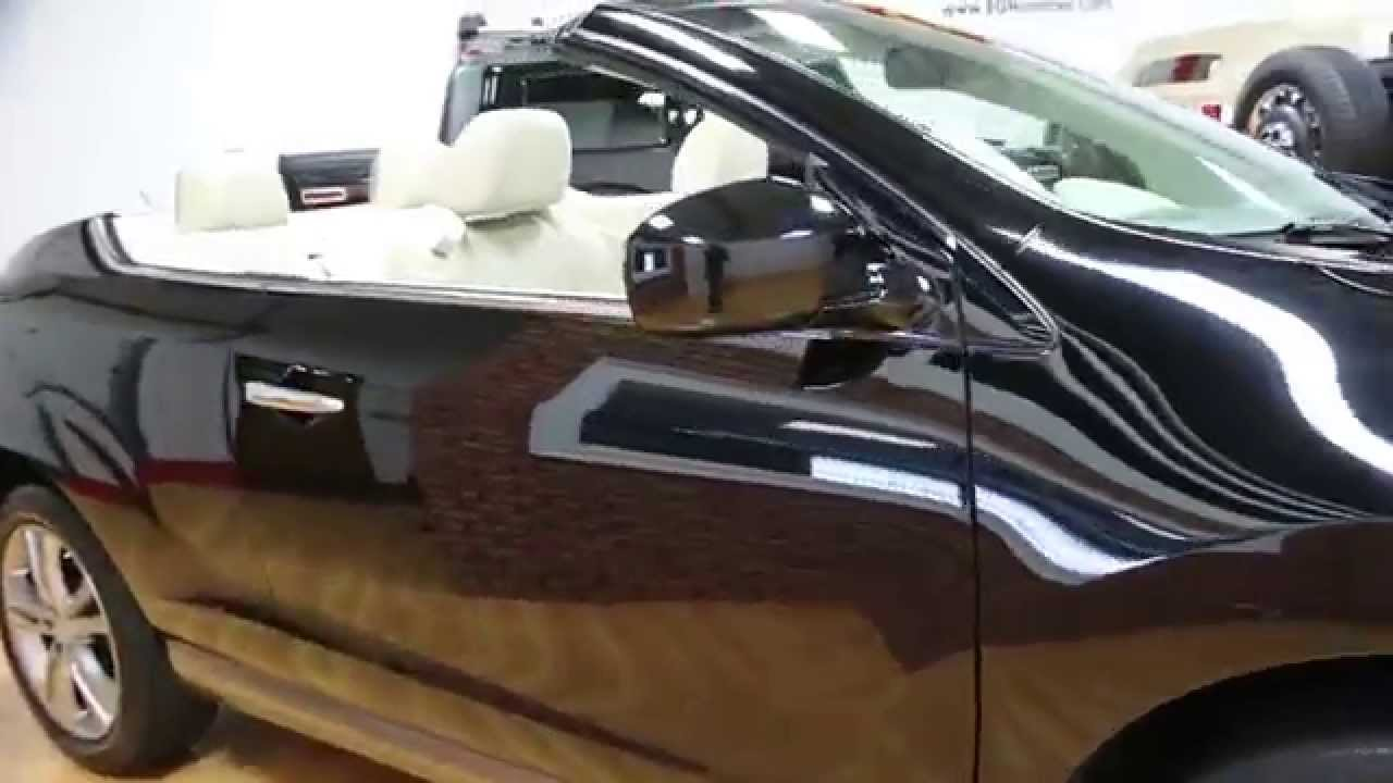 2011 nissan murano crosscabriolet convertible for sale awd navigation low miles youtube. Black Bedroom Furniture Sets. Home Design Ideas