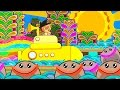 Download Mr Sun, Sun, Mr Golden Sun | Kids Song | Nursery Rhymes Songs Collection by ABC Heroes MP3 song and Music Video