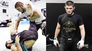 Хабиб готов к бою против Порье / Фрагменты тренировок / Неделя до UFC 242