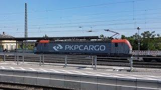 Vectron PKP Cargo i trzy składy IC / Vectron PKP Cargo and three InterCity trains