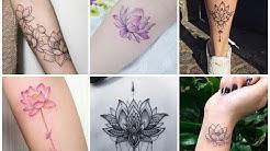50 Unique Lotus Flowers Tattoo Ideas