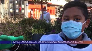 Yvelines | Des collégiens d'Elancourt ramassent les déchets de leur quartier