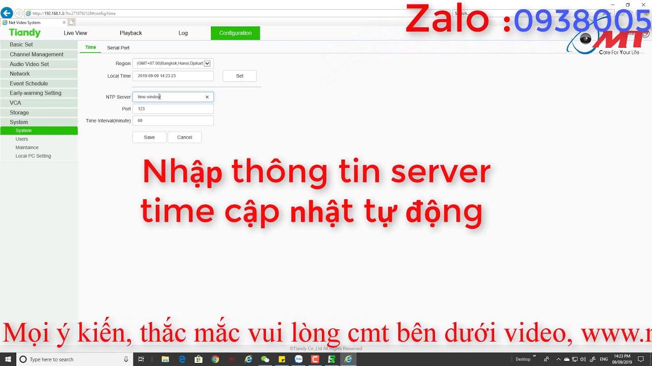 Huong dan su dung dau ghi ip tu A-Z - YouTube
