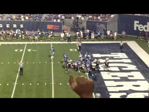 MSU Vs Memphis -- Ballard Scores 3rd TD