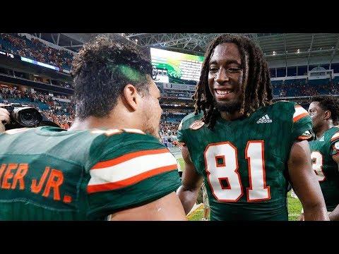 #11 Miami Vs. Georgia Tech Highlights 2017 | CFB Week 7 | College Football Highlights 2017