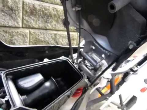 Air Filter Check 2011 14 Cbr125r Youtube